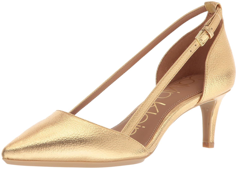 Calvin Klein Women's Pashka Pump B077J2M4WN 5 B(M) US|Gold