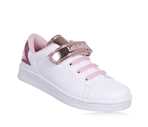 Sneakers rosa con chiusura velcro per bambina Lelli Kelly Abastecimiento De Descuento Manchester Gran Venta Precio Barato SDq7hXMm