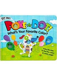 Melissa & Doug Children's Book - Poke-a-Dot: What's Your Favorite Color
