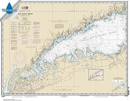 Amazon com noaa chart 12363 long island sound western part 32 5 x