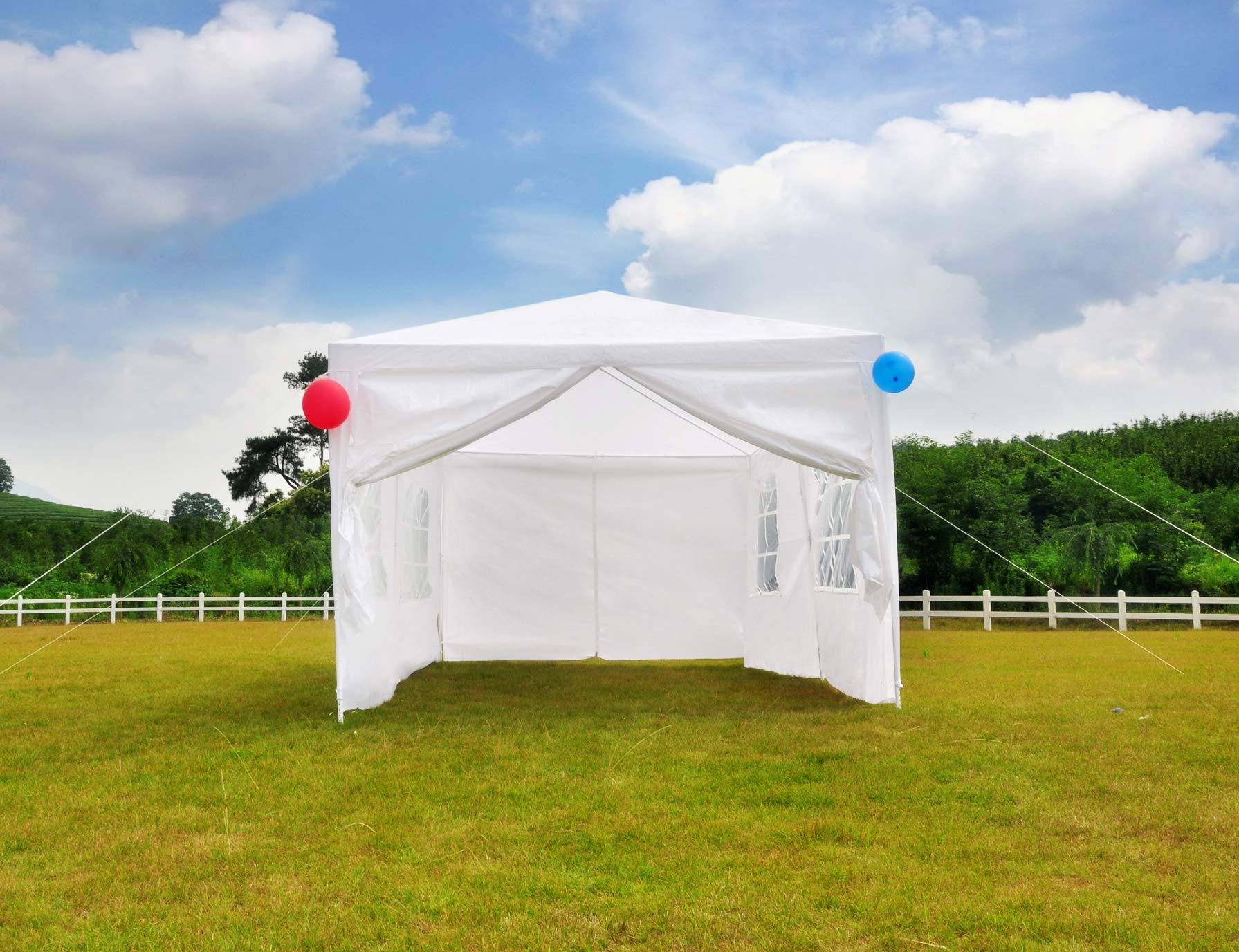 GOJOOASIS 10x20 Outdoor Gazebo Wedding Party Tent w/ 6 Removable Walls by GOJOOASIS (Image #5)