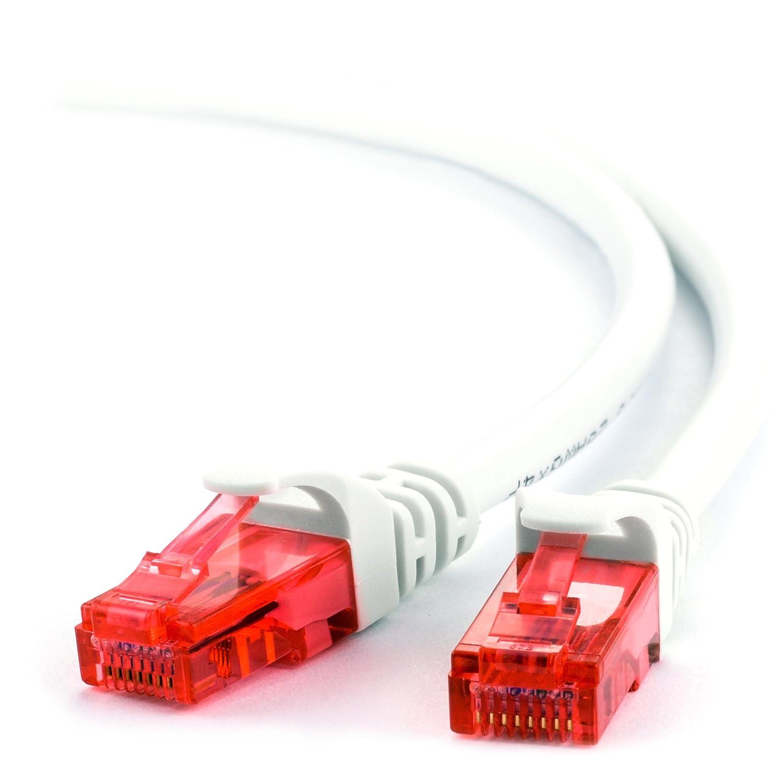 20m - CAT.6 Ethernet Gigabit Lan Netzwerkkabel: Amazon.de ...