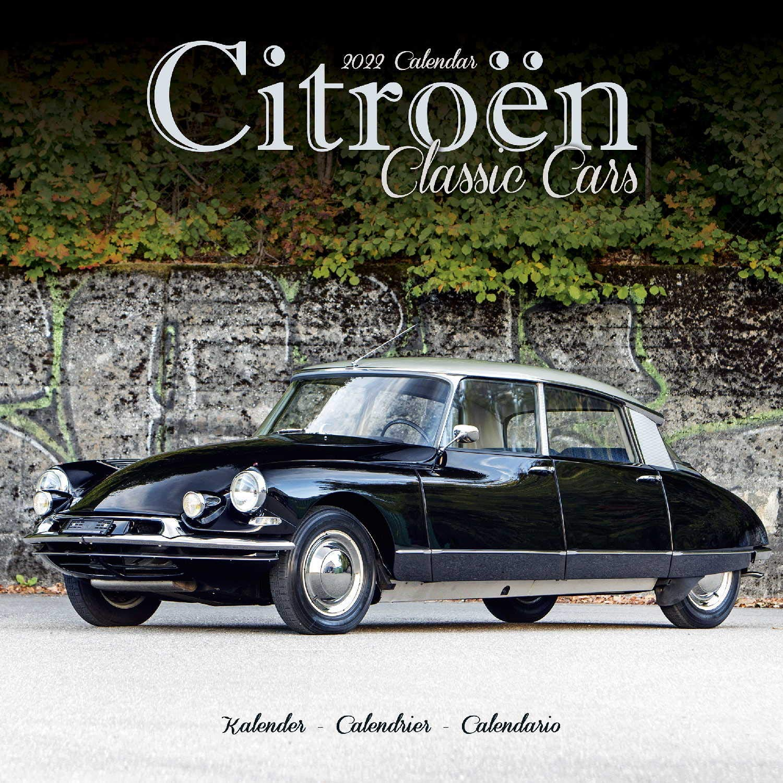Calendrier Stock Car 2022 Citroen Classic Car Calendar  Calendars 2021   2022 Wall Calendars