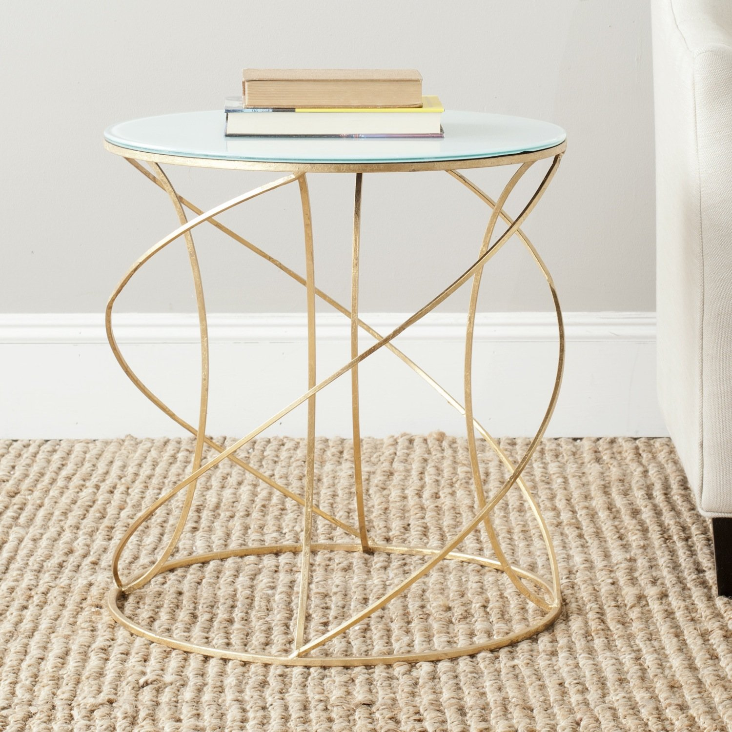 gld gold table knoll fz t in platner side product