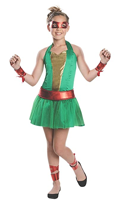 Disfraz de Raphael Las Tortugas Ninja para niña - 3-4 años ...