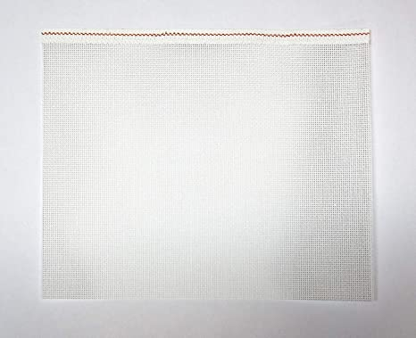 Zweigart Mono Deluxe Needlepoint Lienzo, 100% algodón, blanco, 13 malla: Amazon.es: Juguetes y juegos