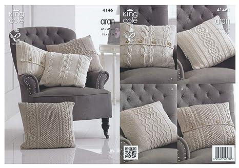 Amazon.com: King Cole algodón reciclado patrón para tejer ...