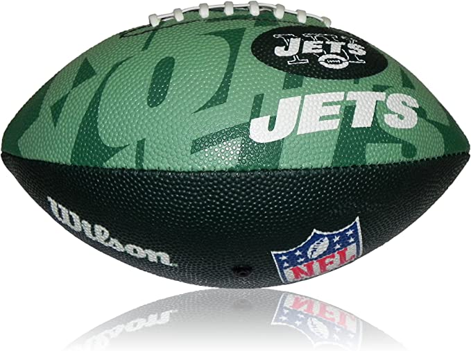 Wilson Football NFL Junior New York Jets Logo - Balón de fútbol ...