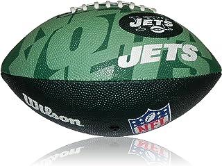 Wilson NFL Junior New York Jets Logo Ballon de football américain WL0206664040