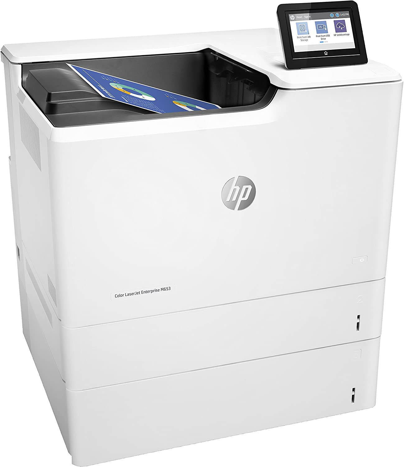 HP LaserJet Enterprise Stampante Color Enterprise M653x 2M3EZ64
