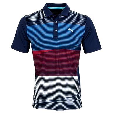 70d015d23 Puma Golf Mens Levels PC Polo Shirt - Peacoat - XXL: Amazon.co.uk: Clothing