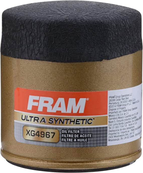 FRAM XG4967 Ultra Synthetic Spin-On Oil Filter with SureGrip