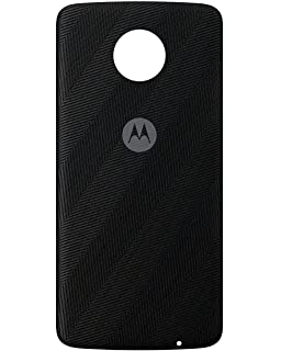 on sale e0ad3 3a860 Amazon.com: Motorola Battery Case for Moto Z - Black: Cell Phones ...