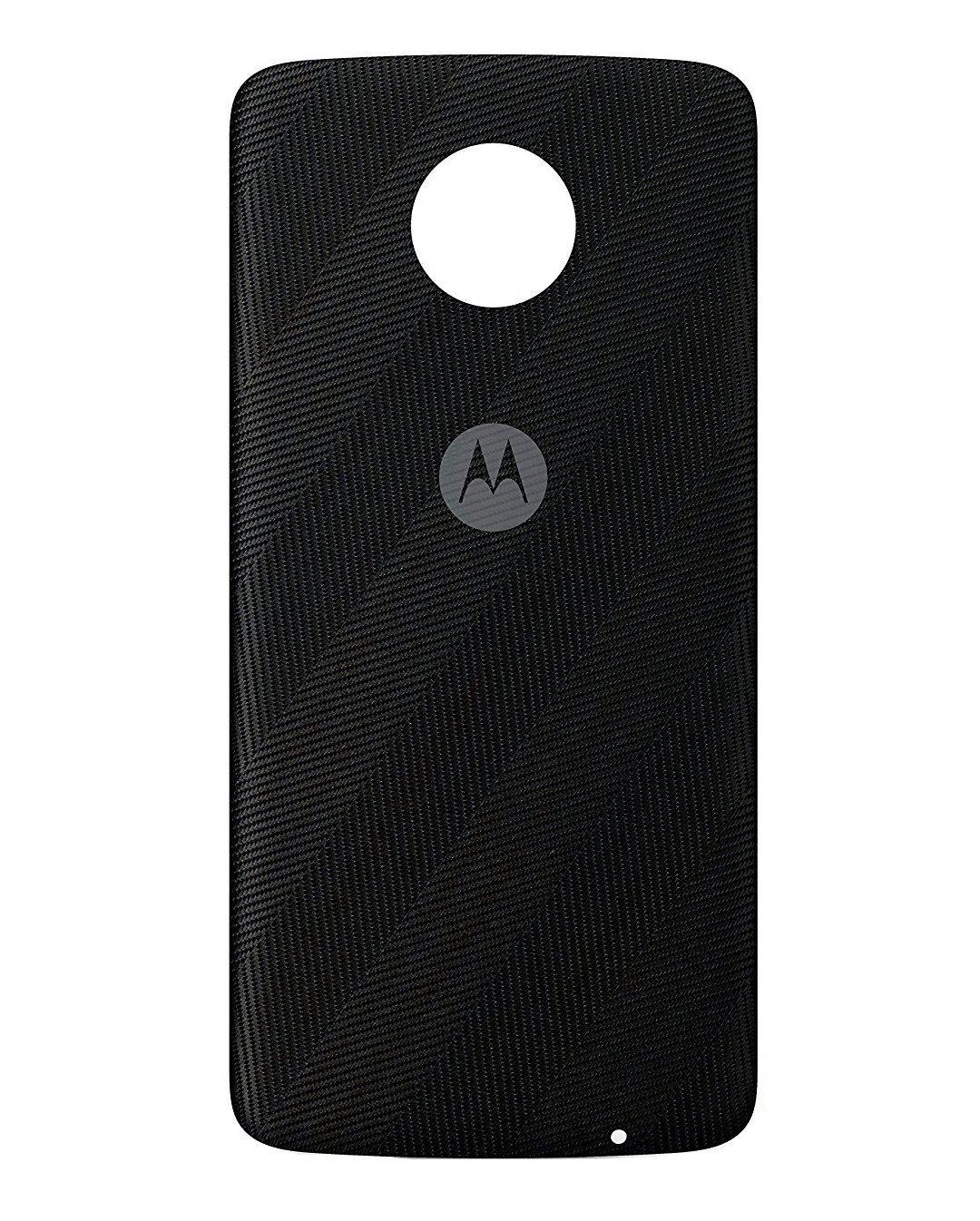 Moto Mod Style Shell for Motorola Moto Z Phone Case (Herringbone Nylon) by Marstak