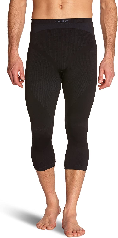 Odlo Mens Evolution Warm Seamless 3//4 Pants