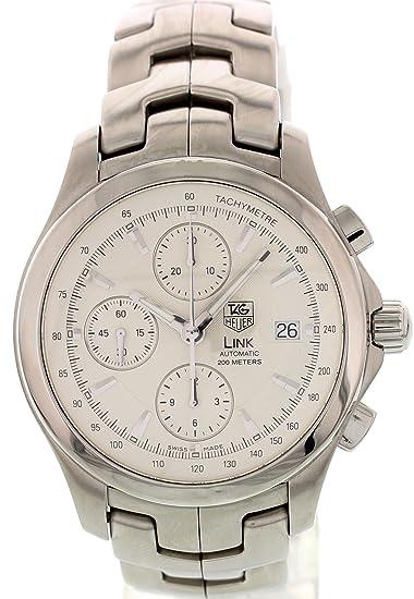 TAG Heuer Enlace Suizo Reloj Automático Cjf2111 para Hombres: Amazon.es: Relojes