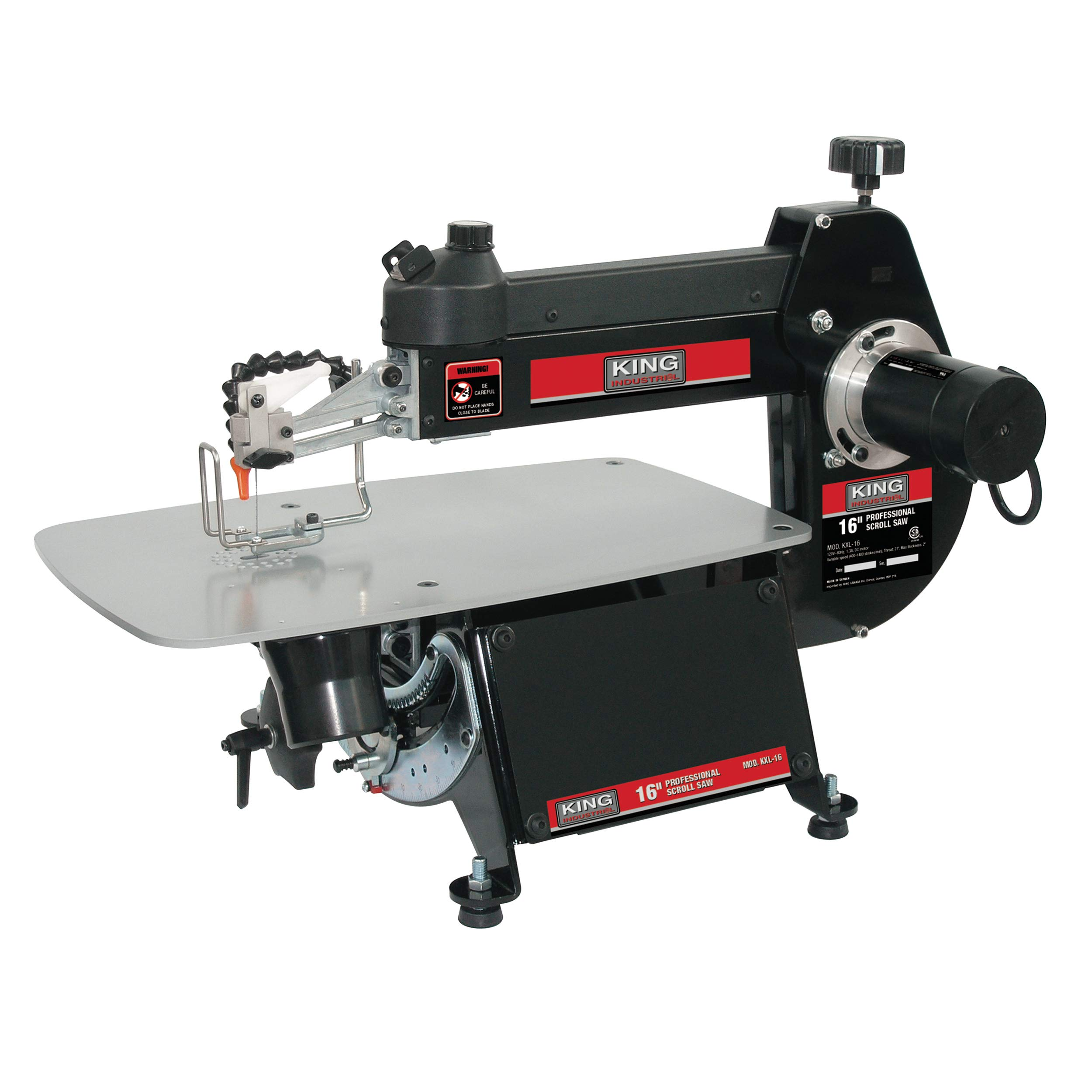 King Industrial 16 Inch Scroll Saw by King Industrial