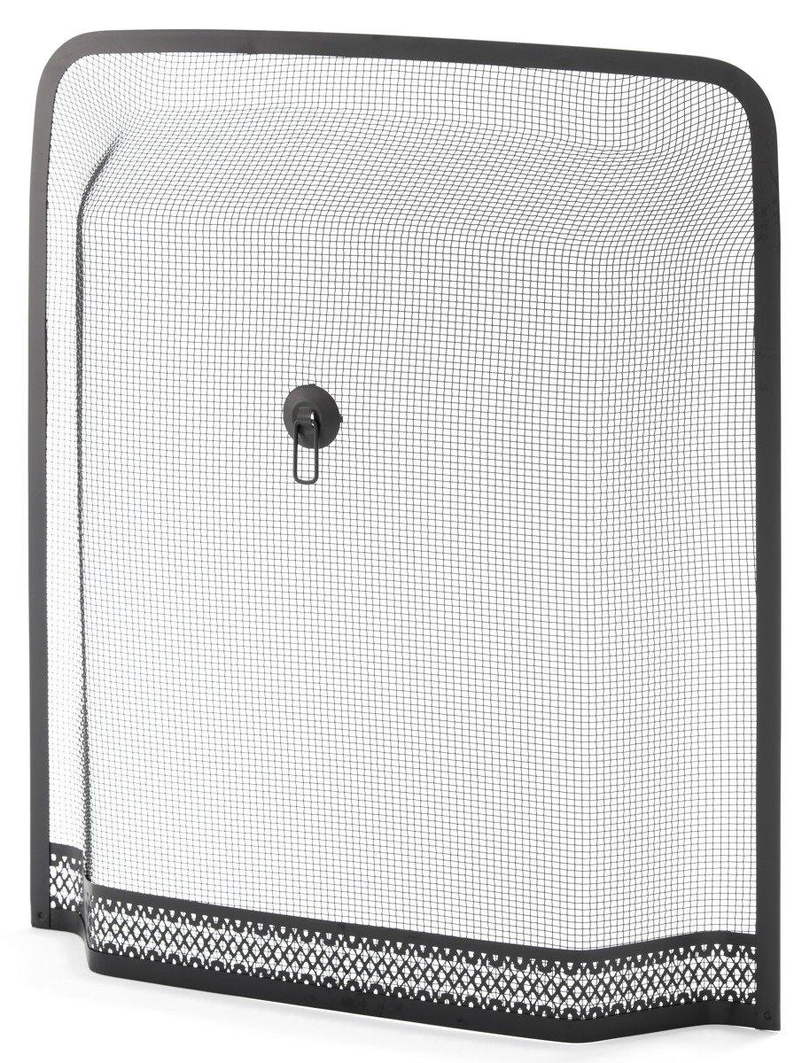 Crannog Rectangular SPARK GUARD Firesceen for your Fireplace 24.5