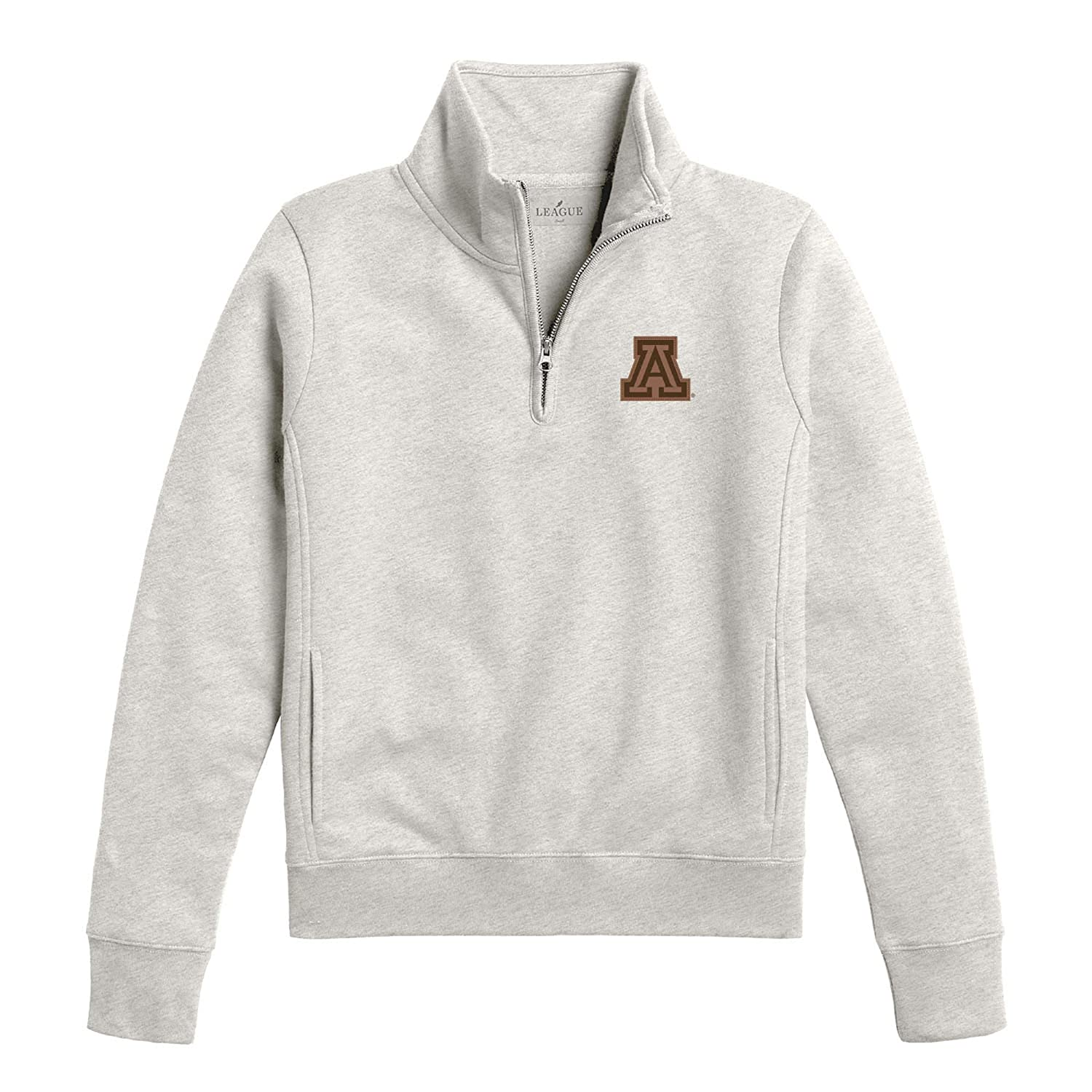 Oatmeal NCAA Womens Arizona Wildcats League Academy Qtr Zip X-Large
