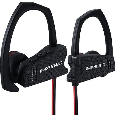 Auriculares inalámbricos Impero deporte Bluetooth auriculares con micrófono, inalámbrico auriculares deporte auriculares mejores auriculares Bluetooth
