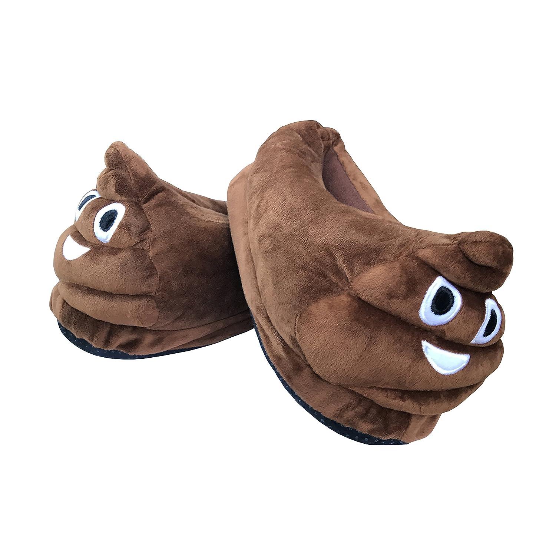 Desire Deluxe® Faccina Emoticon Pantofole Faccina Deluxe® Cuscino Cacca Poop a019be