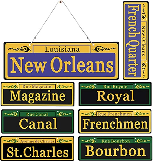 Louisiana Personalized Party Napkins for Mardi Gras New Orleans