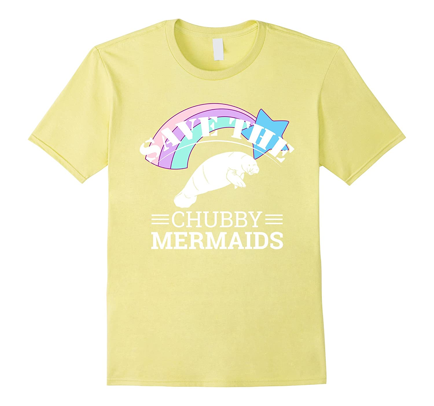59c40b932 Save The Chubby Mermaids Manatees Apparel T-Shirt – Hntee.com