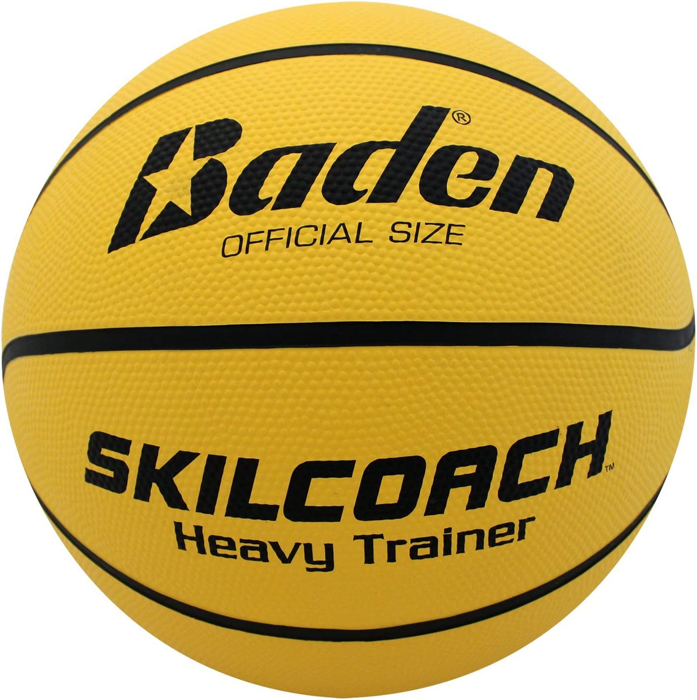 #1 Baden SkilCoach Heavy Trainer Rubber Basketball