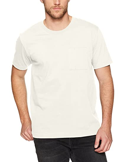 53ea6b7d9 Nudie Jeans Unisex's Kurt Worker Tee T-Shirt, Off White, ...