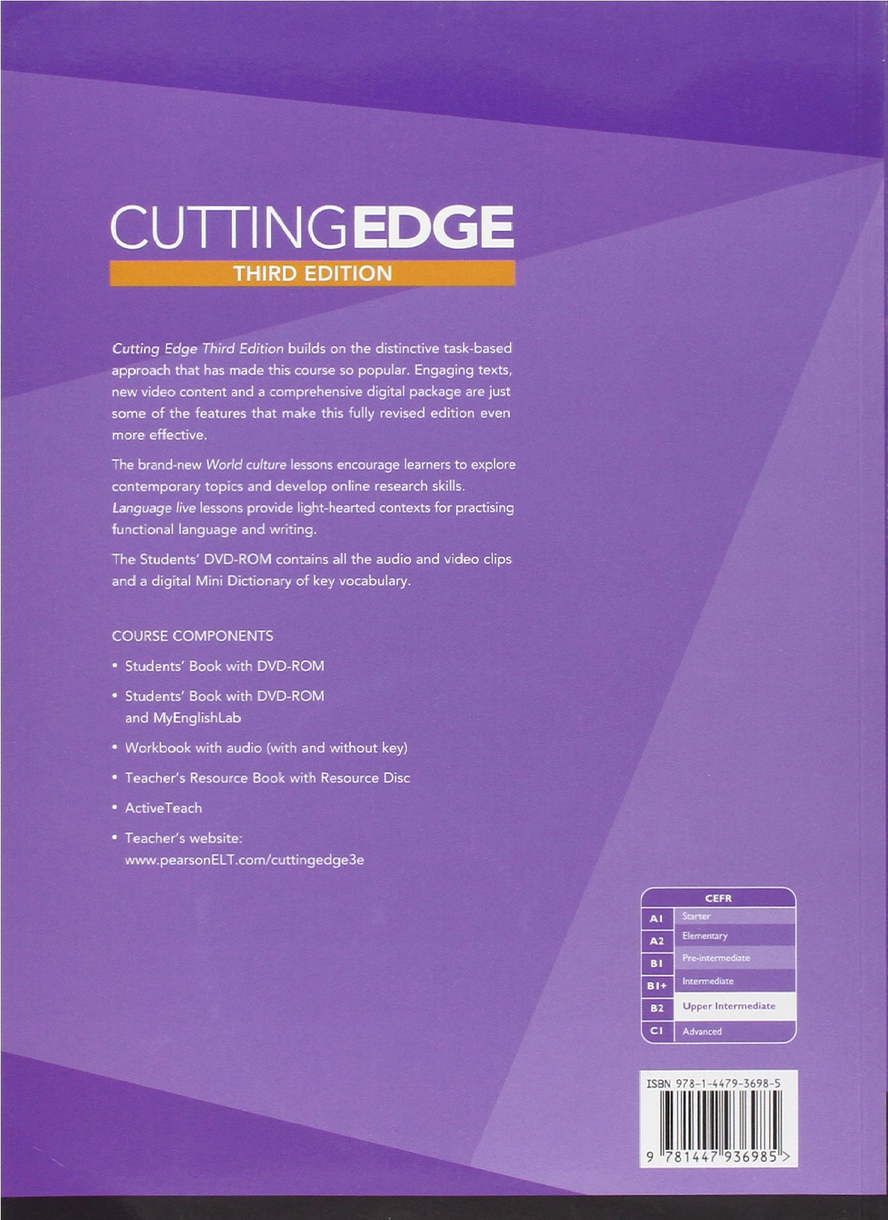Cutting Edge Upper Intermediate Third Edition Pdf