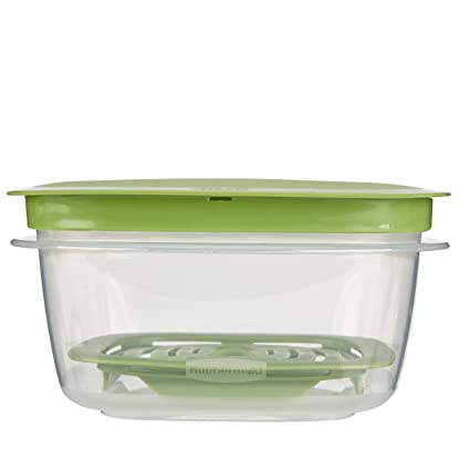 Amazoncom Rubbermaid Produce Saver Food Storage Container 5 Cup
