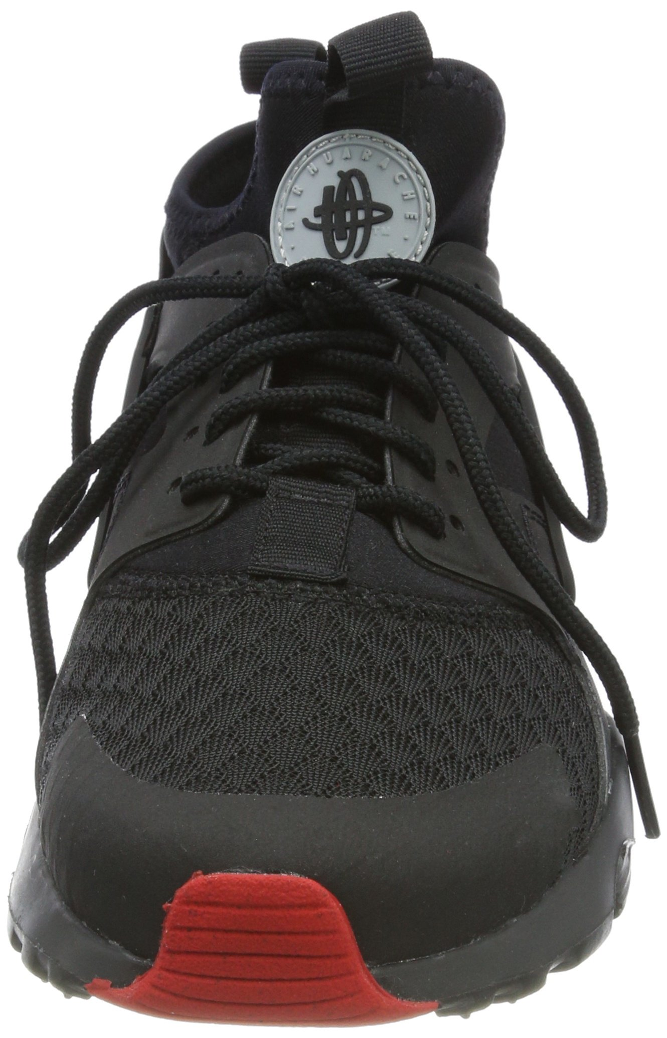 Nike Air Huarache Run Ultra Black/Metallic Silver (11 D(M) US) by NIKE (Image #4)
