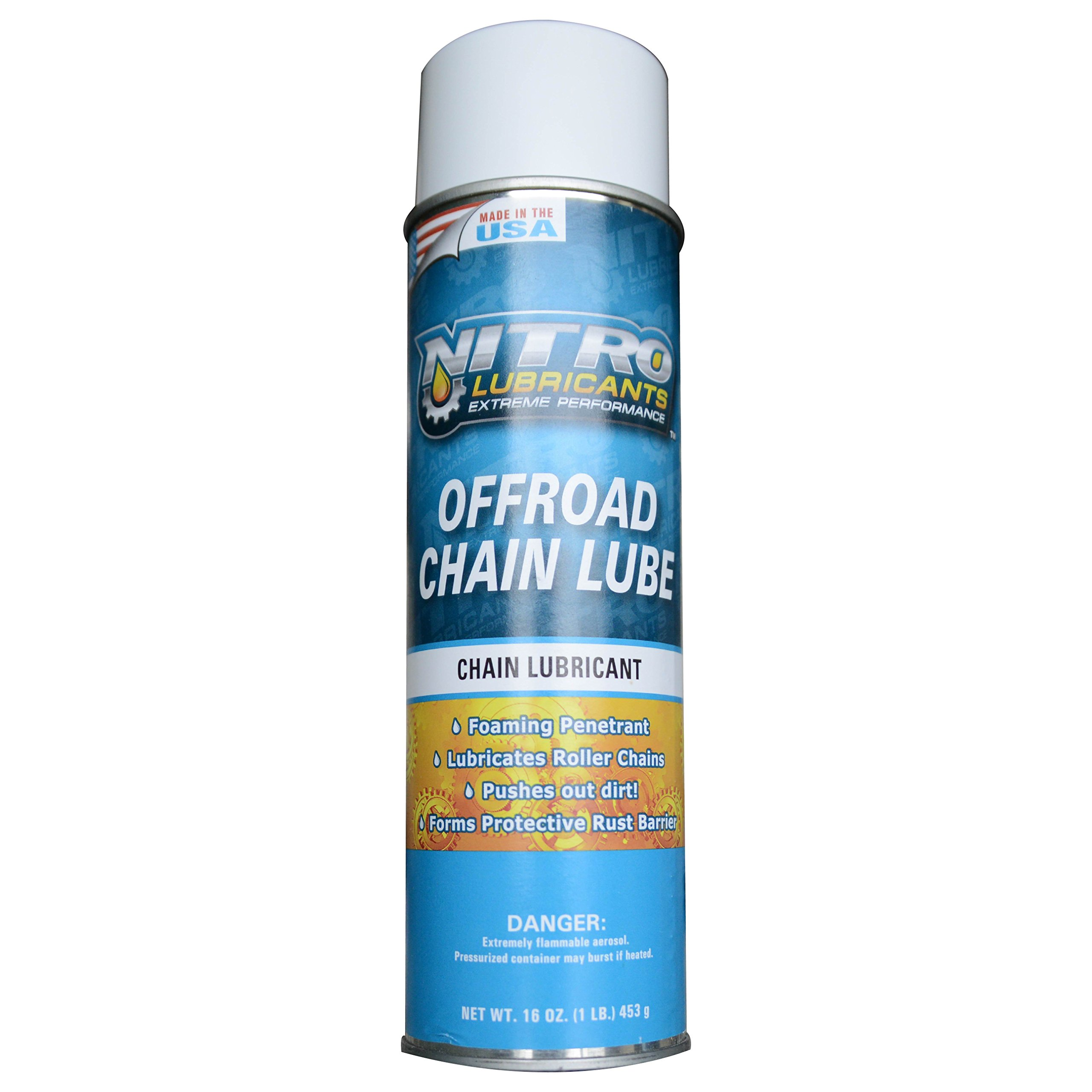 Nitro Lubricants Off Road Chain Lube - 12 Cans (1 Case)