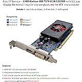 DELL NJ0D3 AMD ATI Radeon HD 7570 1GB DVI Display Port PCI-e Video Card