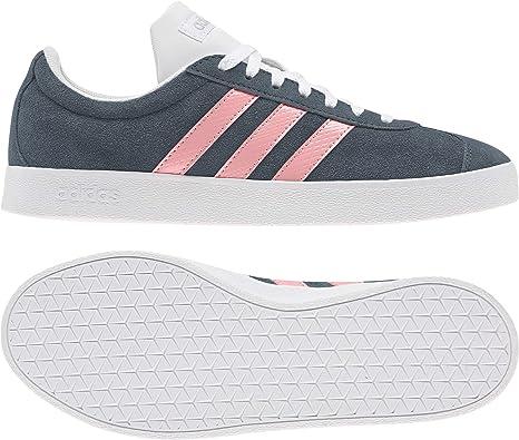 adidas VL Court 2.0, Sneakers Skateboard Femme: