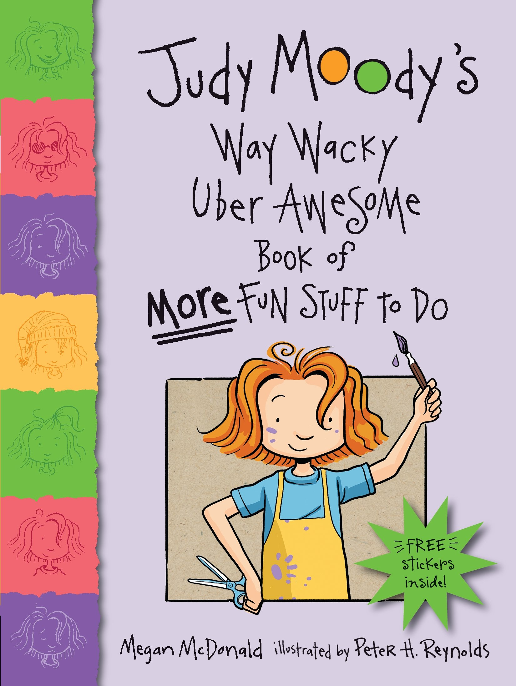 Download Judy Moody's Way Wacky Uber Awesome Book of More Fun Stuff to Do pdf epub