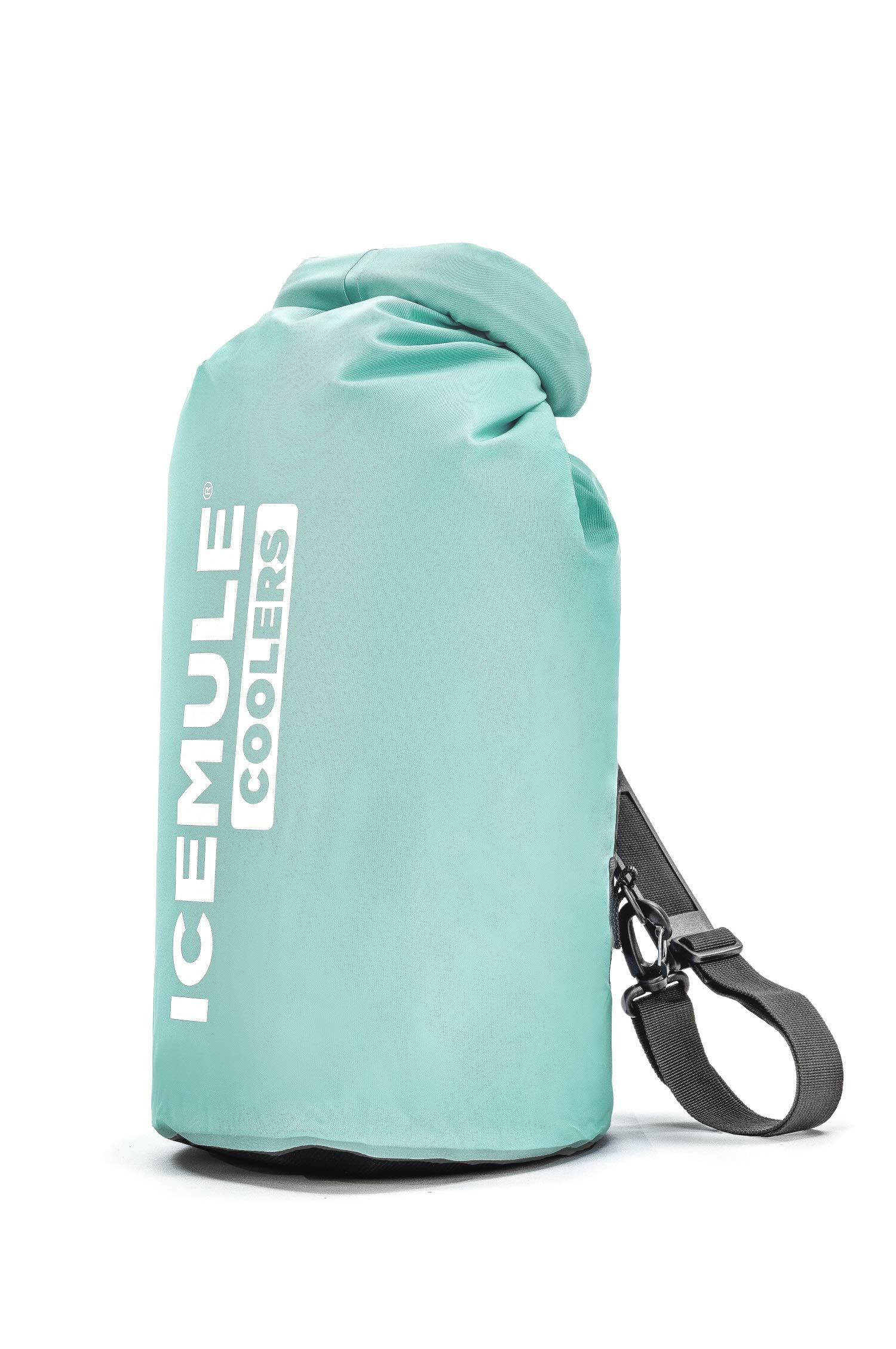 IceMule Classic Insulated Backpack Cooler Bag - Hands-Free, Collapsible, and Waterproof, This Portable Cooler is an Ideal Sling Backpack for Hiking, The Beach, Picnics and Camping-Medium, Seafoam by IceMule