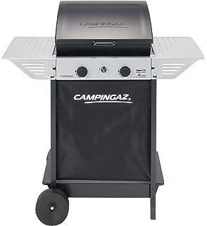 Campingaz Xpert 100 L Barbacoa gas, parrilla gas con dos quemadores compactos, 7.1 kW