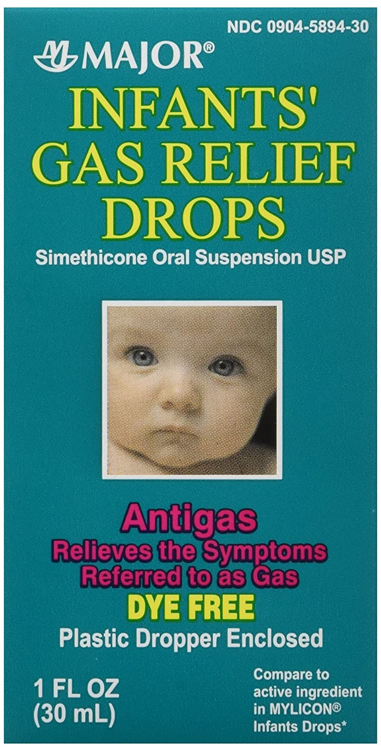Infants Gas Relief Simethicone 30 ml (pack of 3) MAJOR PHARMACEUTICALS
