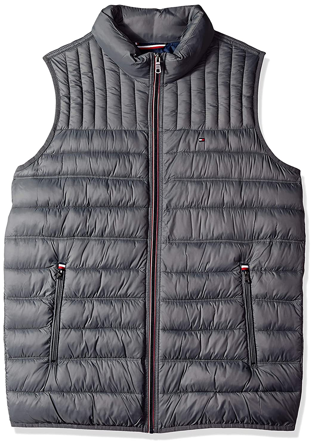 Tommy Hilfiger Men's Big and Tall Lightweight Down Quilted Puffer Vest