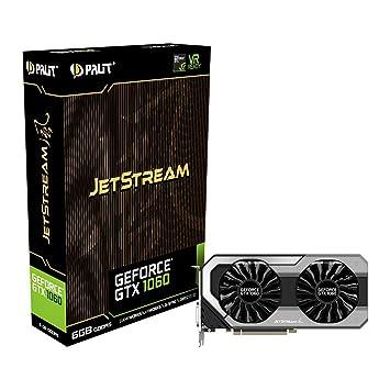 Palit NVidia GeForce GTX 1060 Jetstream 6 GB GDDR5 VR Listo ...