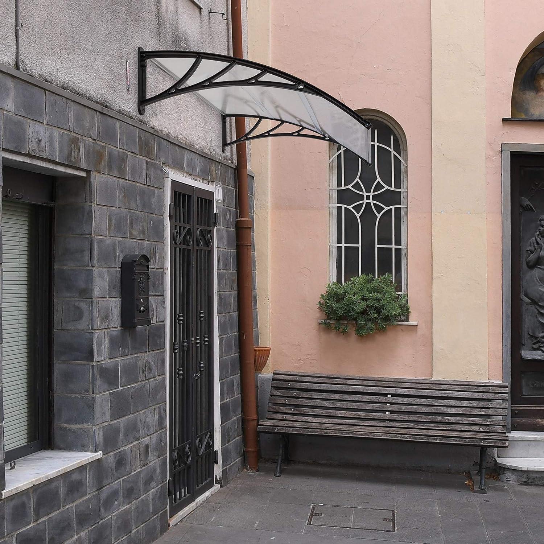 TecTake Vordach Haust/ür /Überdachung Haust/ürvordach Pultvordach 150x93cm   Nr. 401265 diverse Gr/ö/ßen