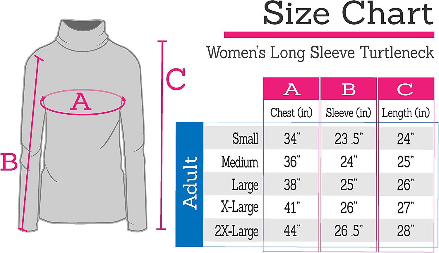 Womens Oh So Soft Long Sleeve Turtleneck Top White X-Large