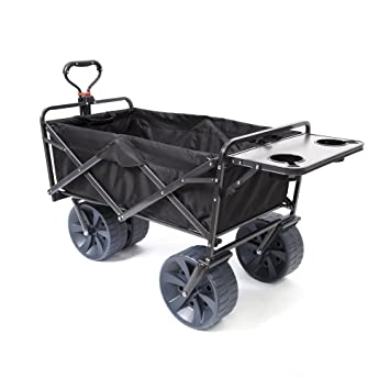 Image Unavailable. Mac Sports Heavy Duty Collapsible Folding All Terrain  Utility Wagon ... fac46baed