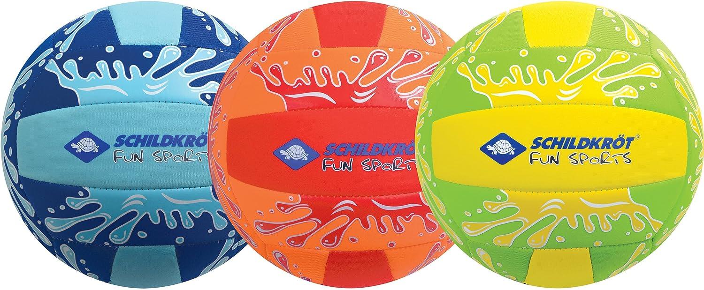 Schildkröt Funsports Neopren BEACHVOLLEYBALL Gr. 5 Ø 21cm, normale Grösse, farblich sortiert, 970274 normale Grösse SCYD5|#Schildkröt Funsports 970276