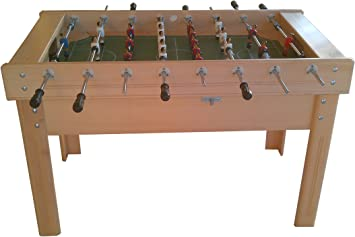 Recreativos Euromatic Futbolin Modelo Madrid: Amazon.es: Juguetes y juegos