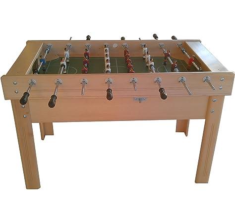 www.mesabillar.es Futbolin modelo MADRID 140x80 cm: Amazon.es: Juguetes y juegos