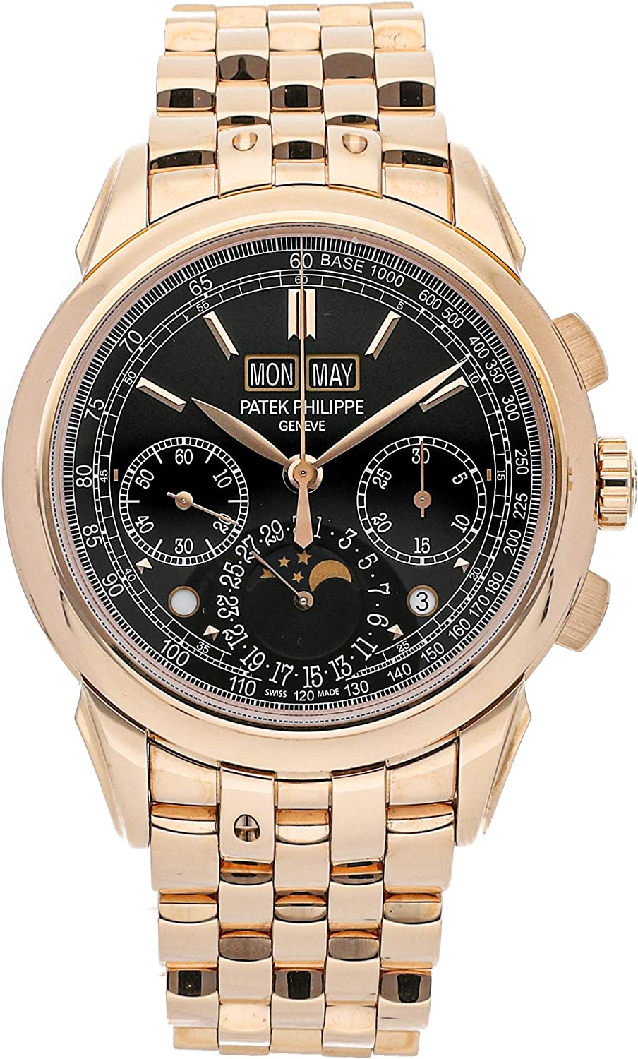 Patek Philippe Grand Complications Mechanical (Hand-Winding) Black Dial Mens Watch 5270/1R-001 (Certified Pre-Owned)