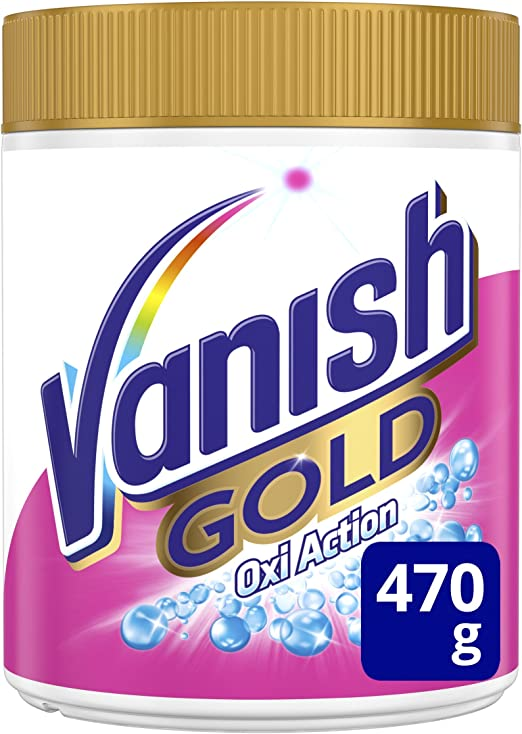 Vanish Oxia ction Gold Powder Detergente en polvo 470 gr Blanco ...