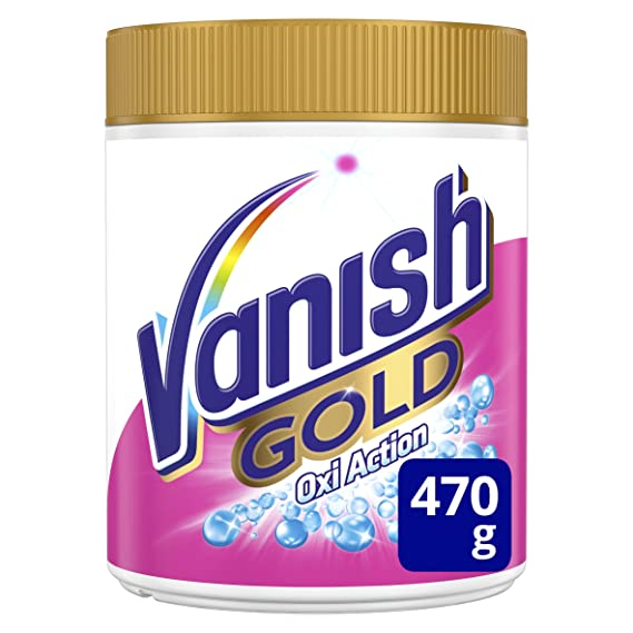 Vanish Oxiaction Gold White Detergente en Polvo - 470 g: Amazon.es: Amazon Pantry